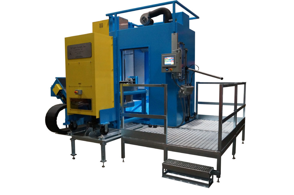 Casting Cleaning Center model TRX-1250CAM